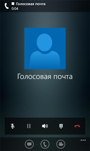 Голосовая почта в мобильном клиенте Lync 2013